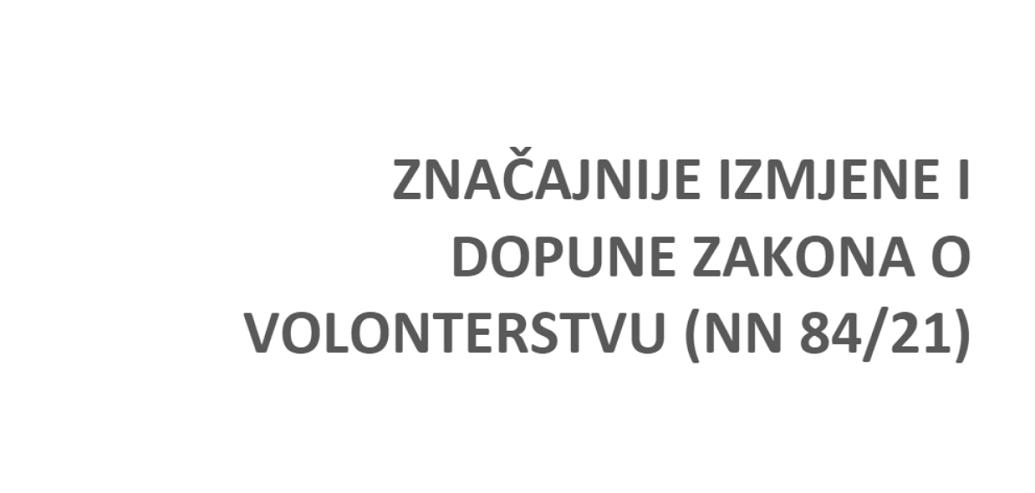 znacajnije-izmjene-i-dopune-zakona-o-volonterstvu